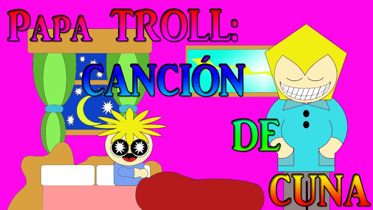 papá troll cancion de cuna with english subtitles