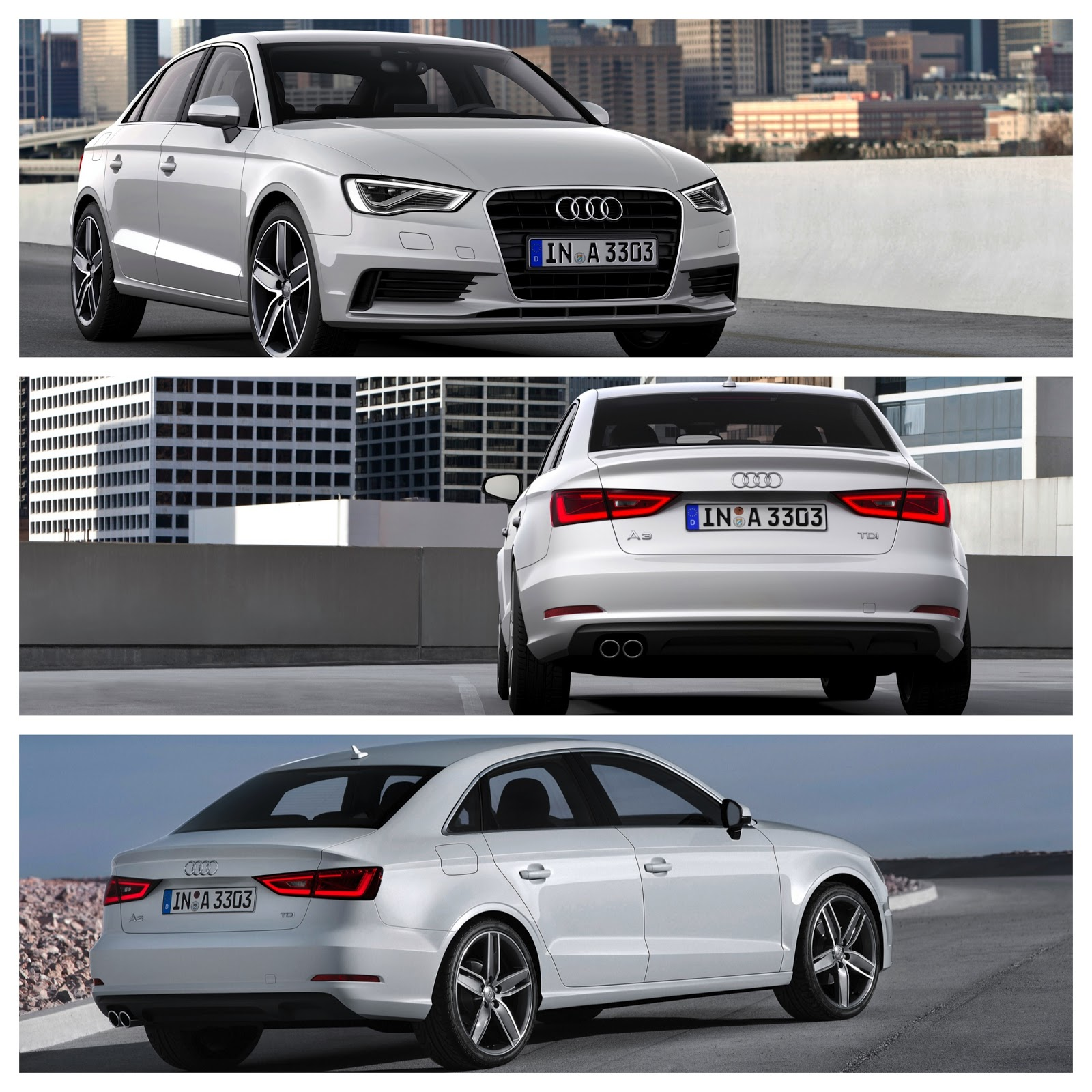 New Audi A3 Sedan: New Audi A4 Competitor?