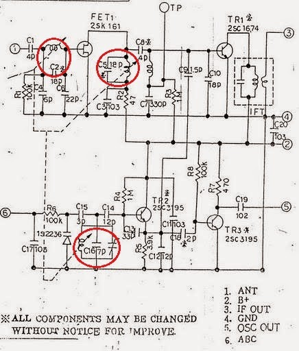 hoby amateur radio  receiver airband dengan tuner fm besi
