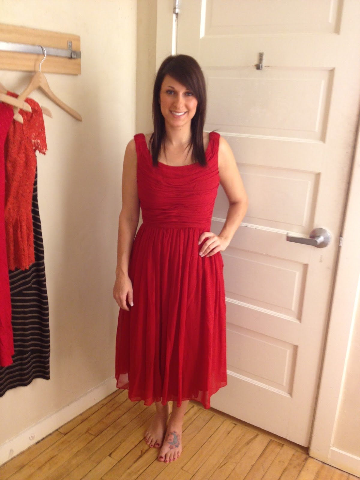 Here Is Moulinette Soeurs Gracia Dress I Ve Been Wanting To Try This Little Number On Forever Runs Large M Wearing A Size 2 And It Was