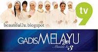 Penaja UTAMA Gadis Melayu ke3 Tv9