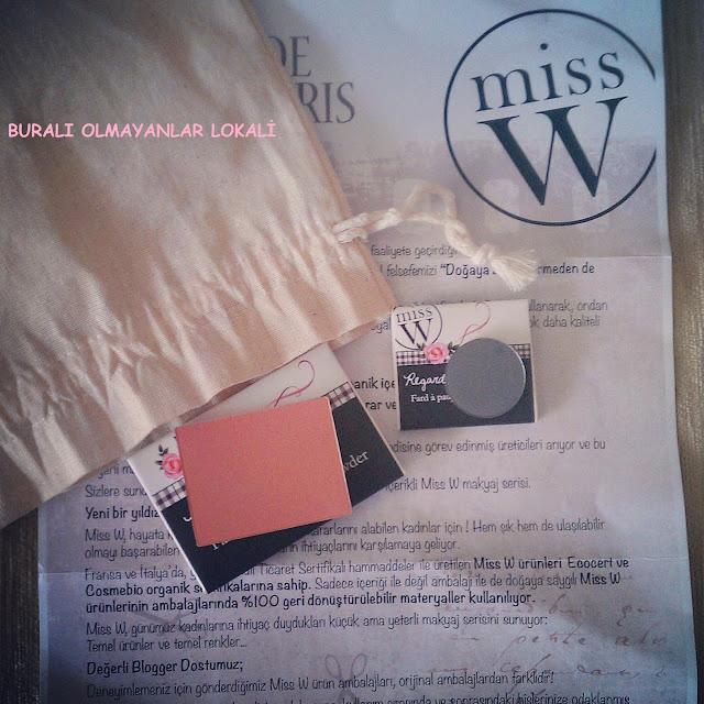 buralı olmayanlar lokali-allık-miss w-yaşam dükkanı-far-organik kozmetik