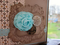 Ruffled Ribbon Rose Tutorial