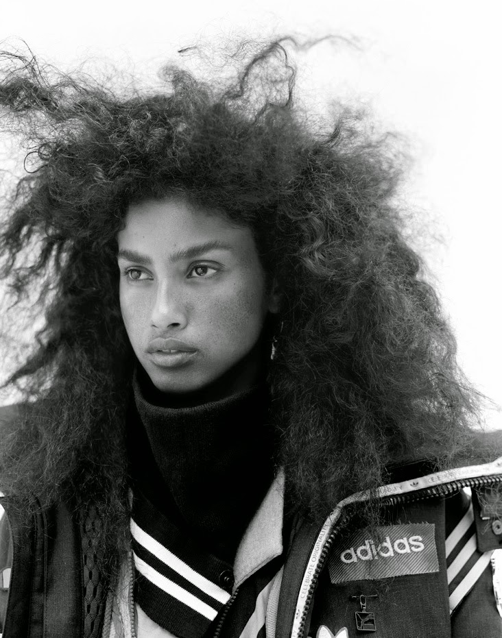 Imaan Hammam by Richard Bush for Document Journal #5 Fall Winter 2014