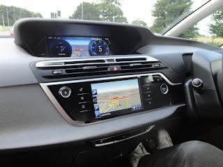 Inside of the New Citroen C4