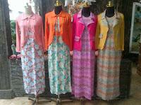 model baju batik gamis modern 2014 | Trend Model Terbaru