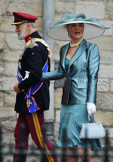 Prince and Princess Michael of Kent arrive to attend the Royal Wedding of Prince William to Catherine Middleton at Westminster Abbey.