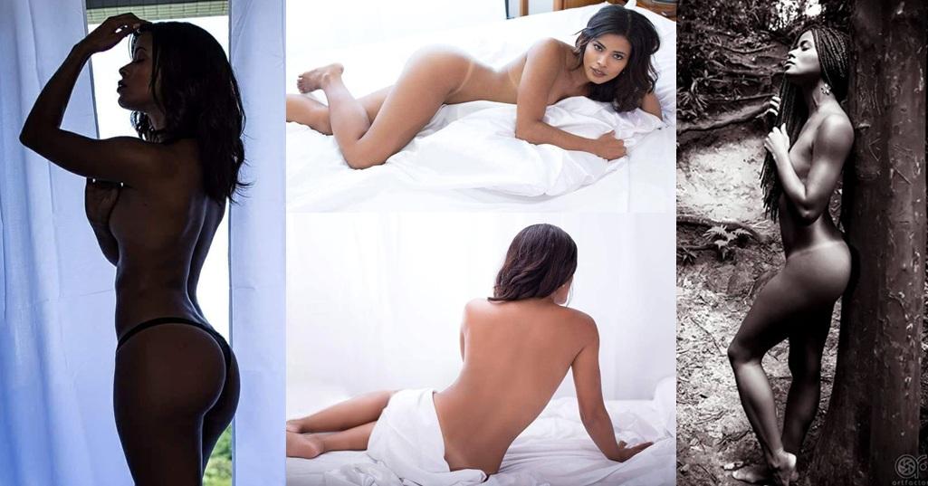 Modelo fala sobre seu trabalho de 'nu artístico' e mostra curvas sinuosamente perfeitas.