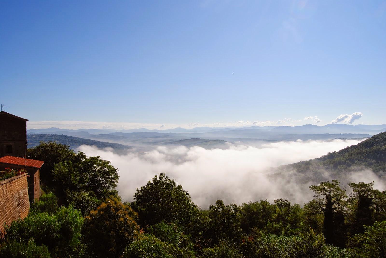 Amanece en el Valle del Tevere