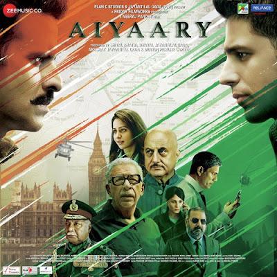 Aiyaary 2018 Hindi 720p DVDRip 1.2Gb x264