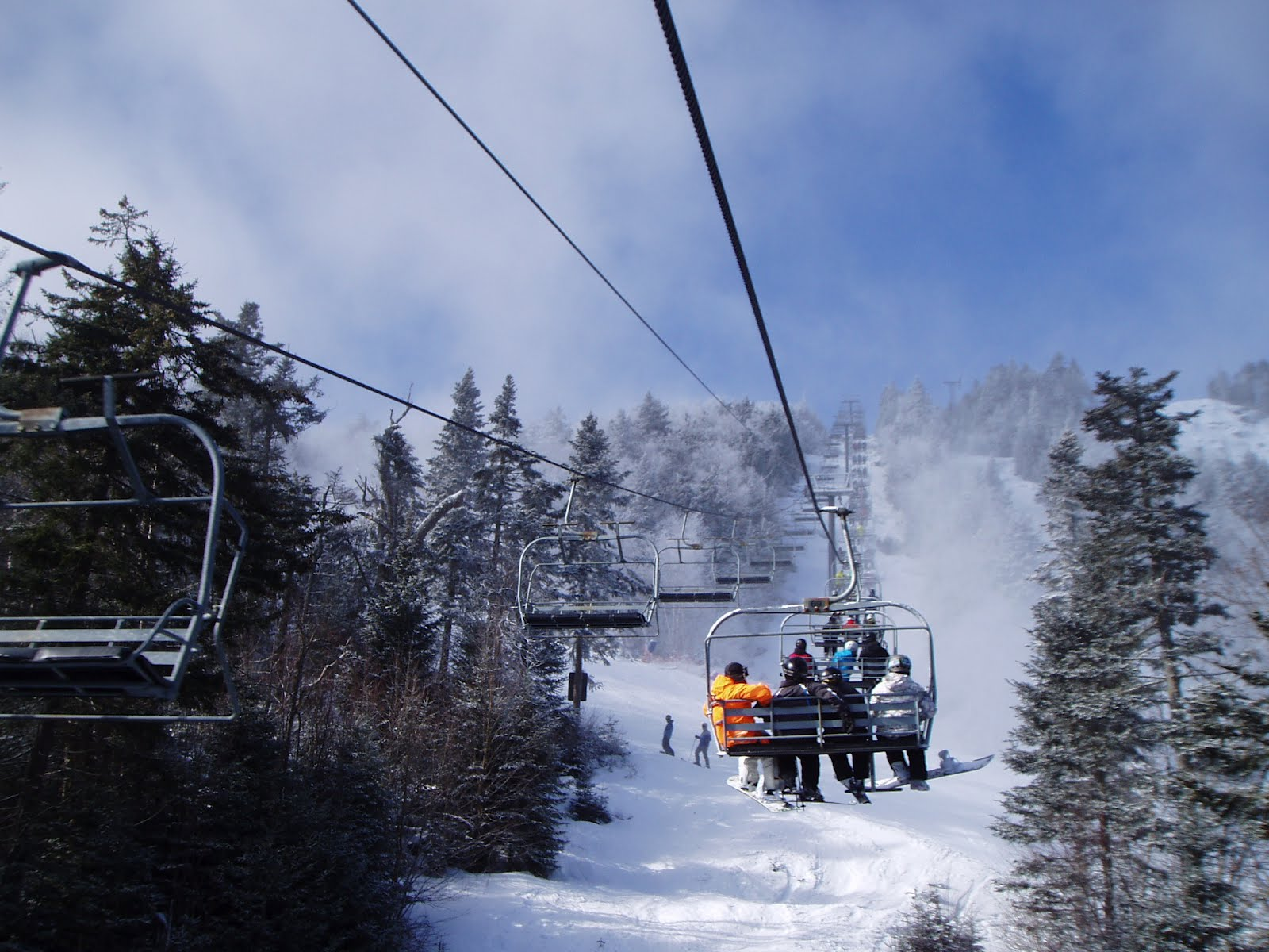 Gore's Straightbrook chairlift on February 4, 2012