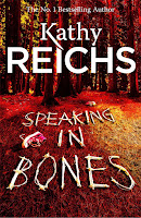 Speaking in Bones by Kathy Reichs book cover and review
