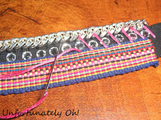 embroidery thread jewellery embellishment