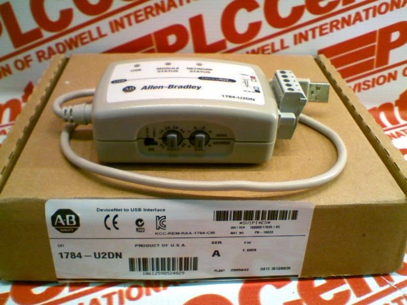 PLC Hardware Allen-Bradley U2CN USB-to-ControlNet Cable m (10 ft)