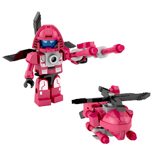 Hasbro Transformers Kre-O Micro Changers Combiners Series 2 - Blades (Protectobots)