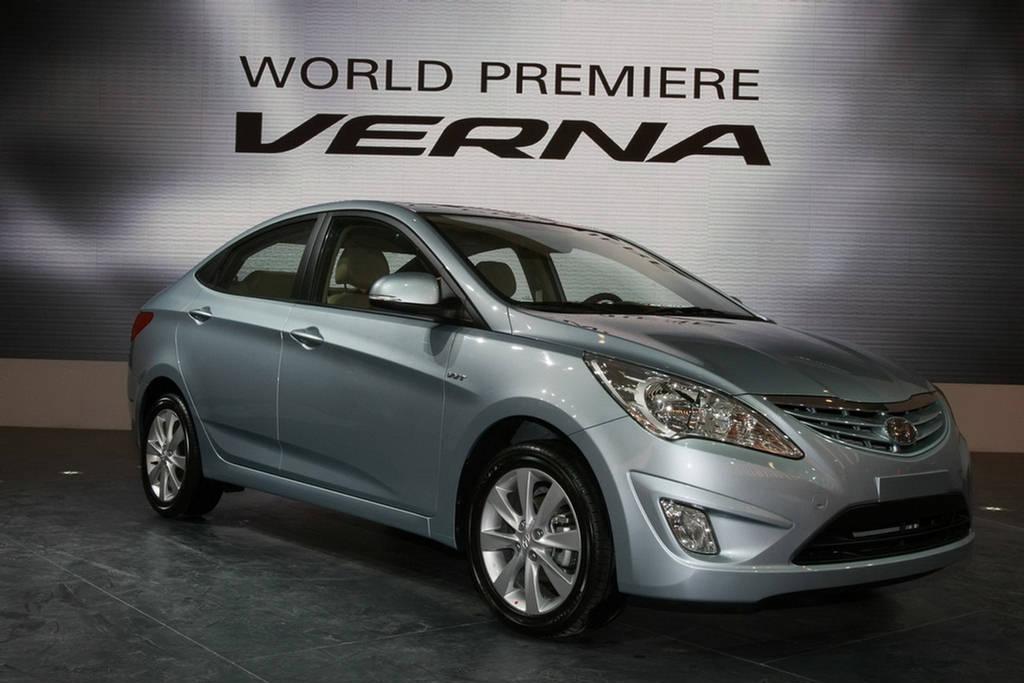 New Car Model 2012 Hyundai Verna Fluidic India 2012