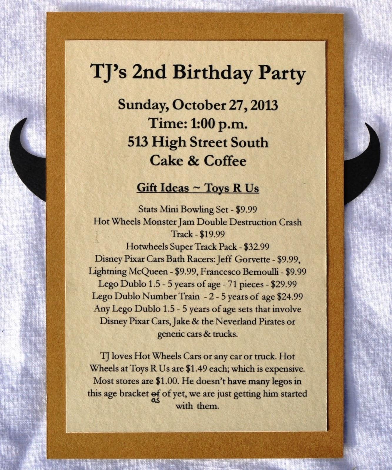 Dats my style tjs 2nd birthday invite tjs2ndbirthdayinvitebackg stopboris Gallery
