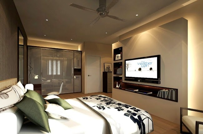 Bedroom decorating ideas tv