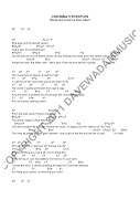 Here are the lyrics and chords for Cincinnati Steeples. Click to enlarge.