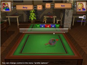 لعبة تنس الطاولة بينج بونج Ping Pong