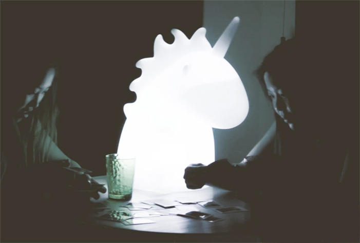 Meet Giant Uni!  Smoko Inc's Newest, cutest & biggest lamp!