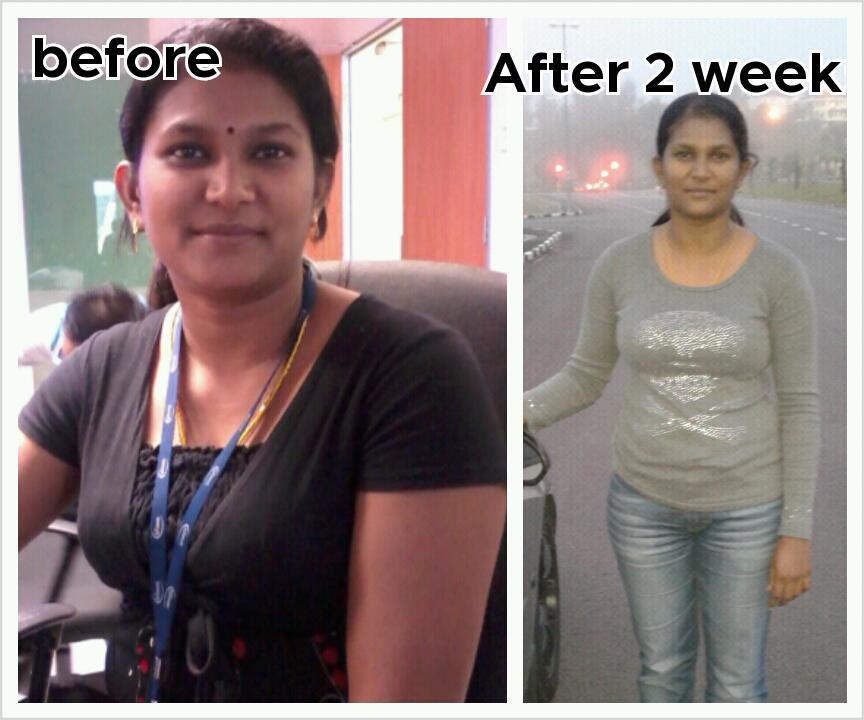 Selepas 2 mggu,BERAT turun 4KG!!: Lengan,Peha dan muka mengecil,perut ...