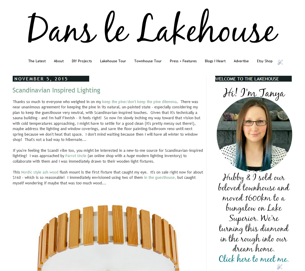 my new blog look a review of pipdig templates dans le lakehouse