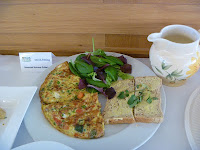 Seasonal Summer Frittata made by The Brilliant Chef