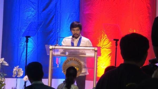 Manny Pacquiao announces Senatorial bid in 2016 Elections