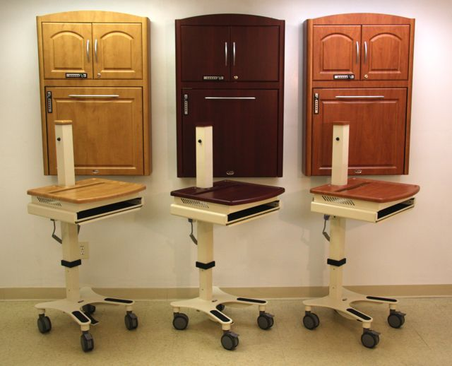 Is your facility using a combination of computer carts and wall mounted computer cabinets? Cygnus offers the ability to match the two together. & Cygnus: Total Hospital Computing Charting Cabinet Solutions and ...