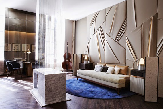 Fresh look at the luxury interior design and decor, the drawing room