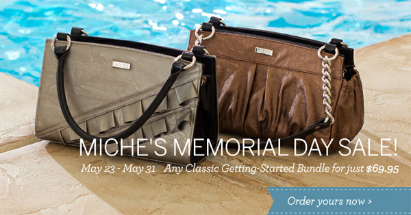 Miche Memorial Day Sale ended May 31st - Shop all our Classic Shells Now Available