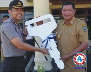 Bupati Serahkan Kendaraan Operasional ke Polres Bima