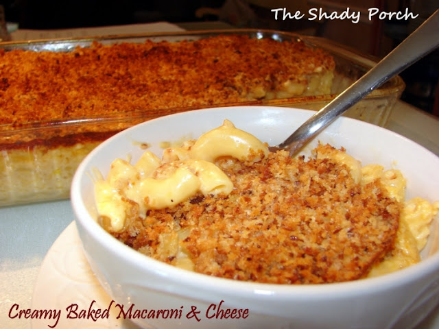 Creamy 3-Cheese Mac & Cheese #recipe #pasta #comfortfood #dinner