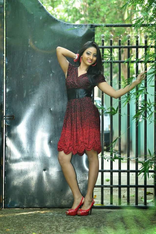 Vinu Siriwardane short dress