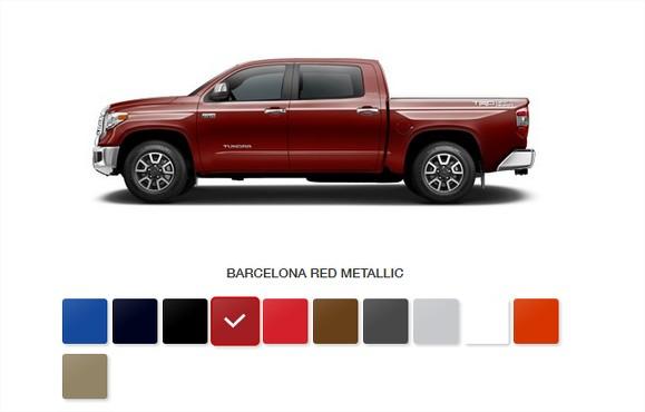 2017 tundra in barcelona red metallic color 2017 tundra in