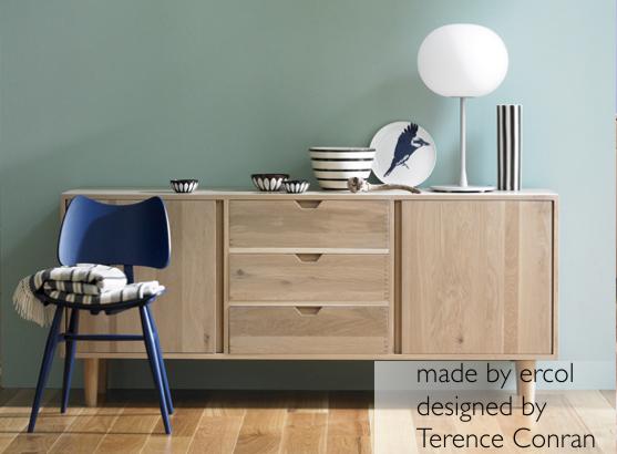 DE ARTE Y DISEÑO Muebles de roble macizo para una hermosa casa