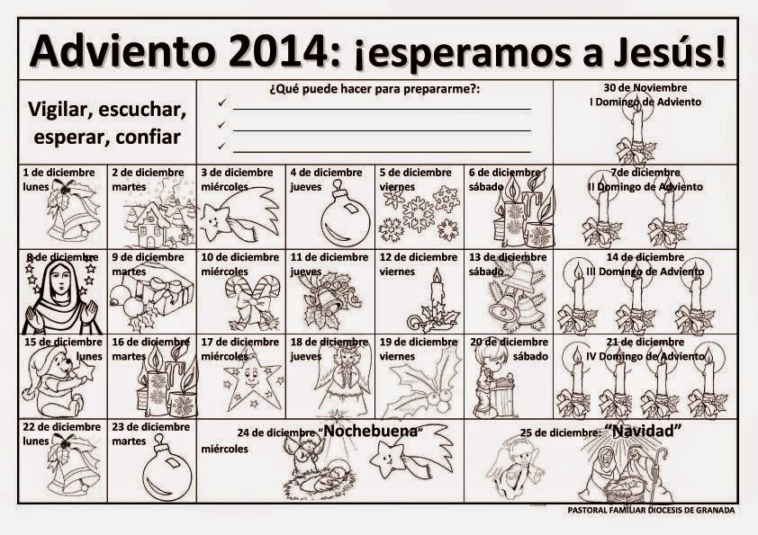 Lectio Divina: Cronograma litúrgico del Tiempo de Adviento 2014 ...