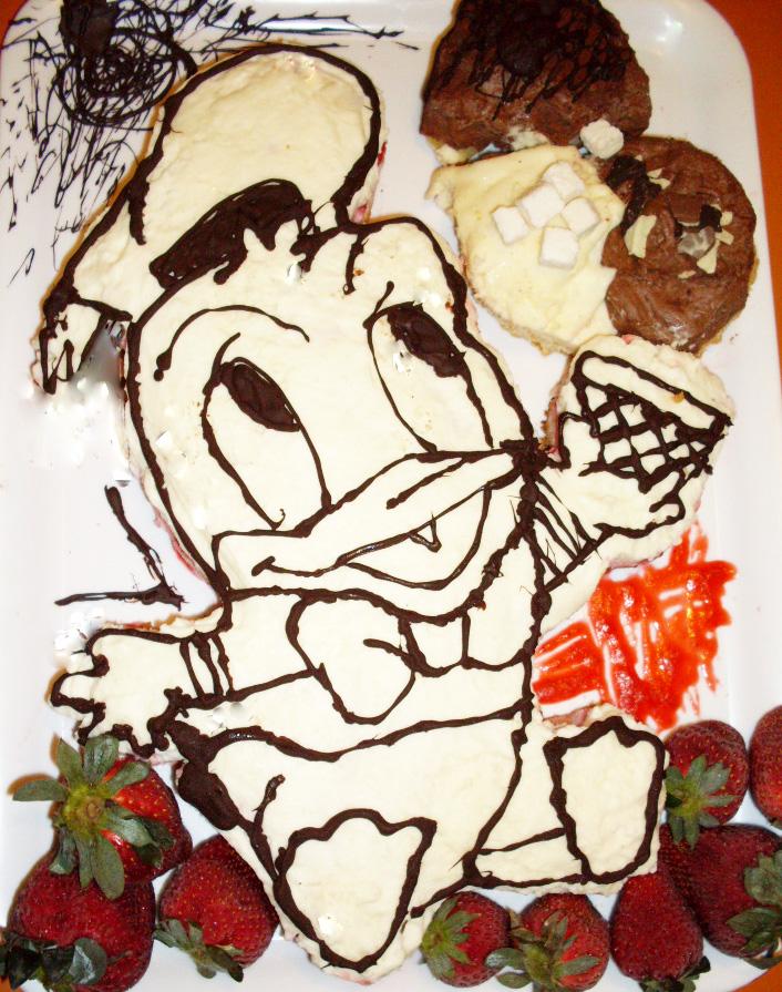Un papero in cucina: Festa di compleanno del papero