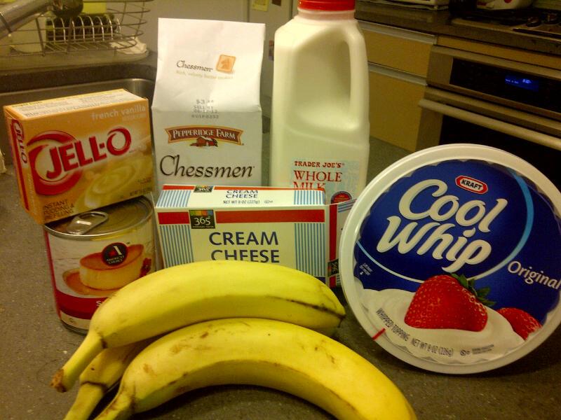 Little Ms. Piggys: Baking: Paula Deen's Not Yo Mama's Banana Pudding