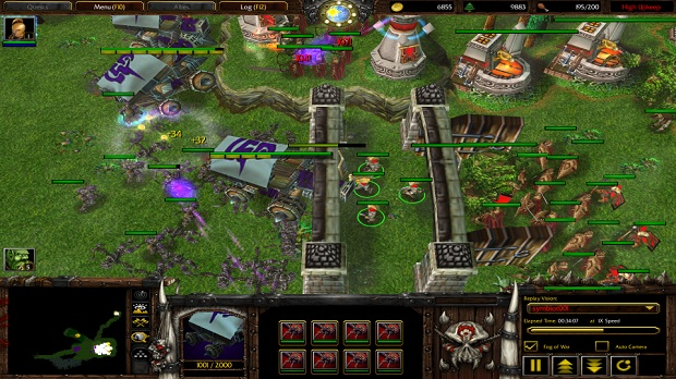 Lord Of The Rings 06  Warcraft III Custom map download