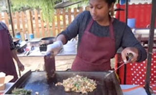 """Kothu Roti"" – Sri Lankan inspired Street Food by ""Kothu Kothu"" in Camden Lock Market, London"