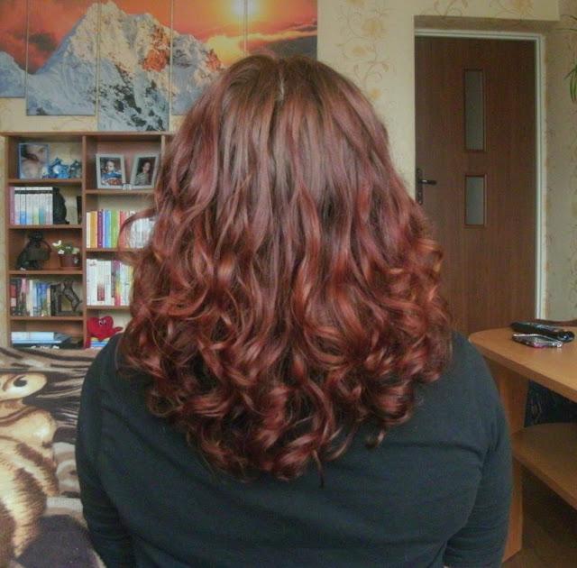 Niedziela dla włosów z wzbogaconym balsamem żurawinowym ecolab ;)