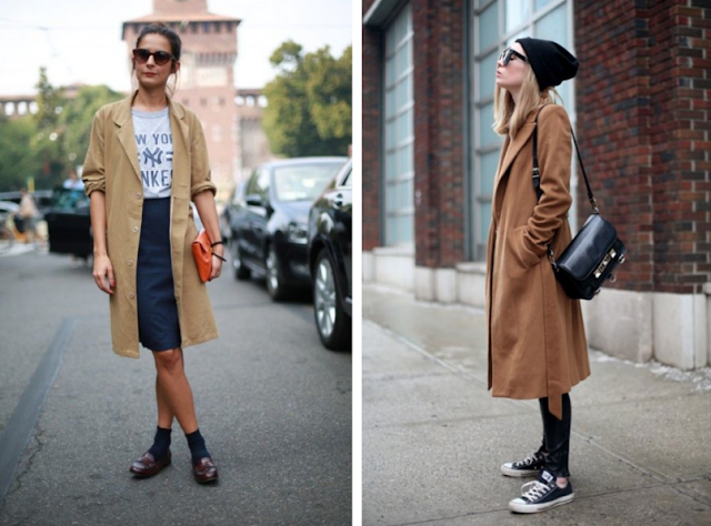 An Edgier Way to Wear A Brown Coat