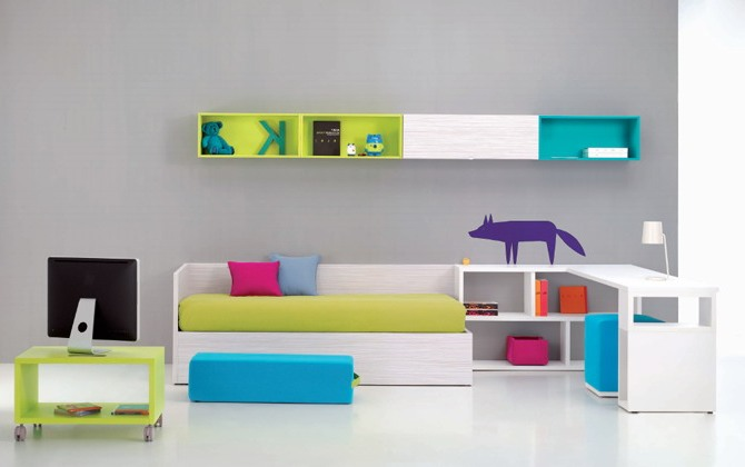 tips menata kamar tidur sempit dan sederhana konsep desain