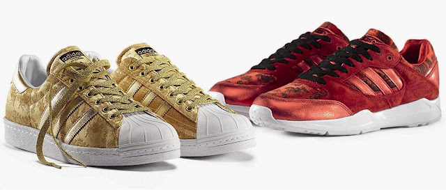 adidas, adidas shoes, adidas Pro Conference Hi, adidas Tech Super, adidas Superstar 80s, shoes, chinese new year, horse year