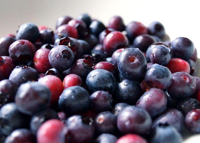 beautiful blueberries - 'growourown.blogspot.com' ~ an allotment blog