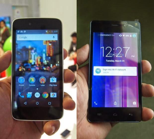 MyPhone UNO versus MyPhone RIO 2 Lite