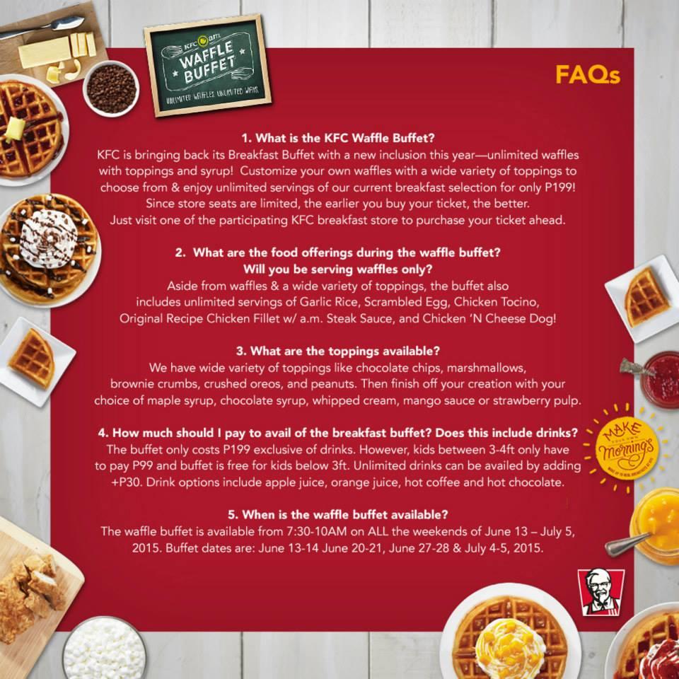 Kfc buffet coupons