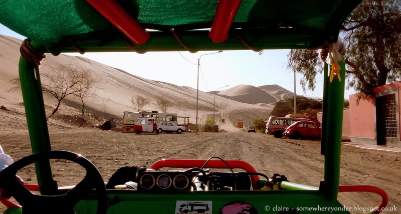 Dune Buggying at the Oasis of Huacachina - Peru